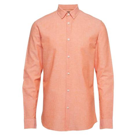 Lososvá košile Slimlinen Classic Selected