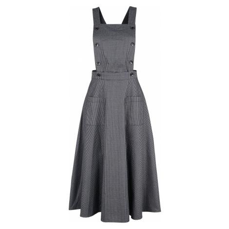 Banned Retro Šaty s kruhovou sukní Betty Is Back Šaty šedá