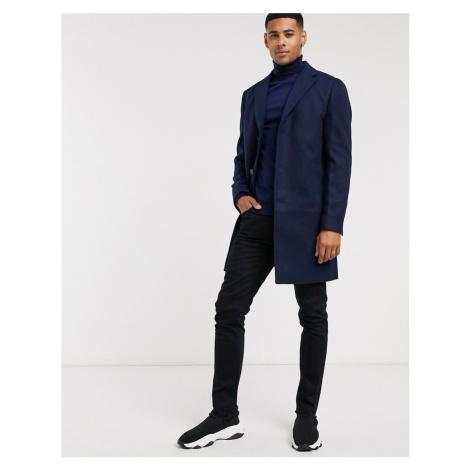 New Look overcoat in navy