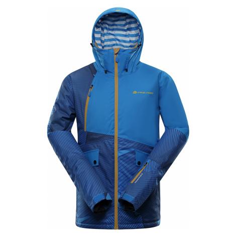 ALPINE PRO MAKER Pánská lyžařská bunda MJCP373674 Blue aster
