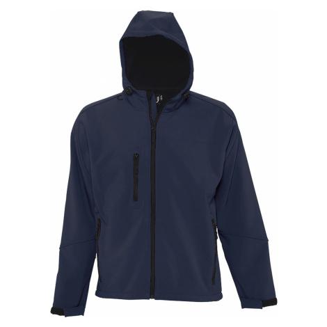SOLS Pánská softshellová bunda REPLAY MEN 46602319 Námořní modrá SOL'S