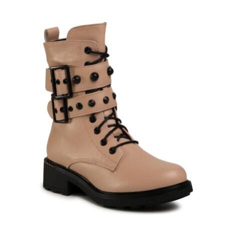Šněrovací obuv Jenny Fairy WS5165-02 Ekologická kůže /-Ekologická kůže