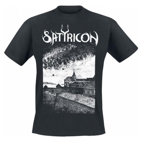 Satyricon Oskoreia Tričko černá
