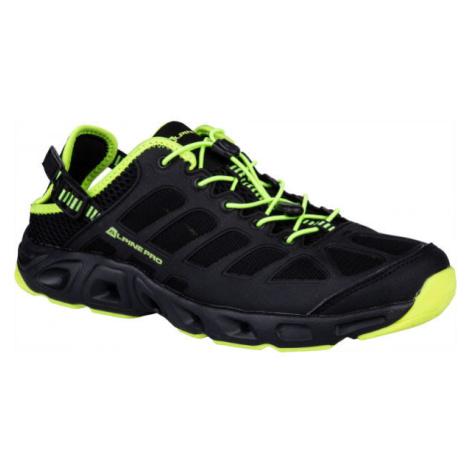 ALPINE PRO CETAN černá - Pánská letní obuv