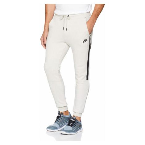 Dámské tepláky Nike Sportswear Tech Fleece Béžová / Černá