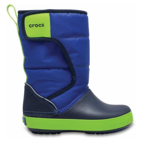 Crocs LodgePoint Snow Boot K BlJ/Nvy C6
