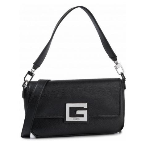 Guess GUESS dámská hladká černá kabelka BRIGHTSIDE SHOULDER BAG