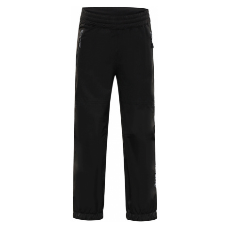 ALPINE PRO OLWENO Dětské kalhoty KPAP155990 černá