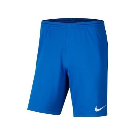 Nike JR Park Iii Knit Modrá