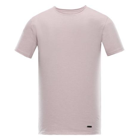 Dran fialová pánské bavlněné triko ALPINE PRO