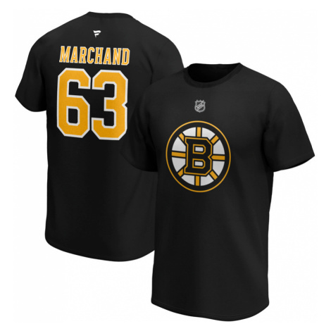 Pánské tričko Fanatics NHL Boston Bruins Bred Marchand 63,