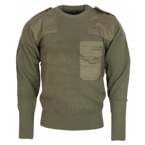 Pulovr BW Commando zelený Max Fuchs