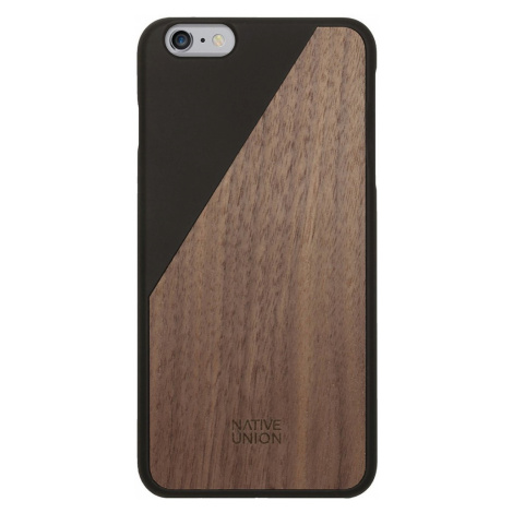 Kryt na iPhone 6 Plus – Clic Wooden Black Native Union
