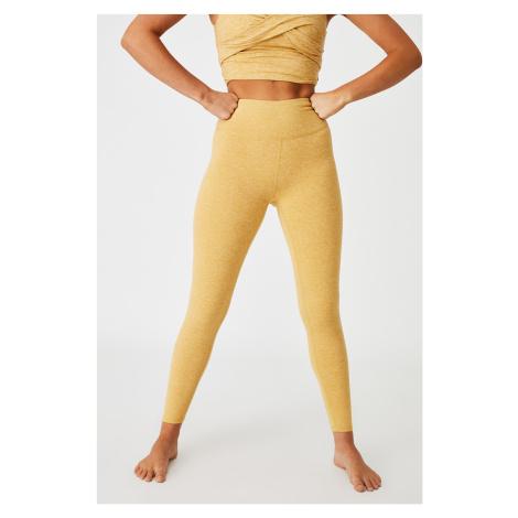 Sportovní legíny So Peachy žlutá žlutá Cotton On