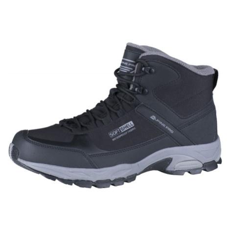 ALPINE PRO AIDER černá - Pánská kotníčková obuv