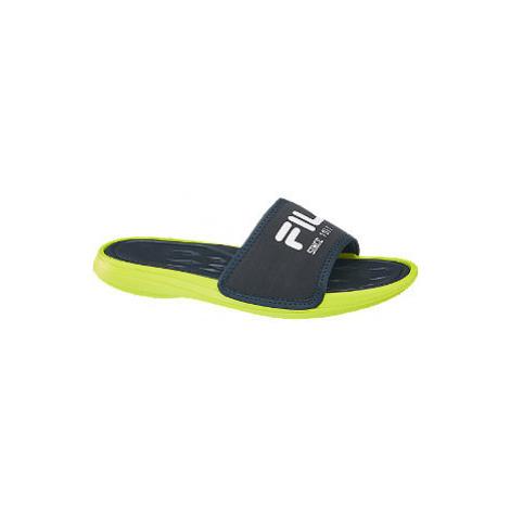 Tmavě modré plážové pantofle Fila