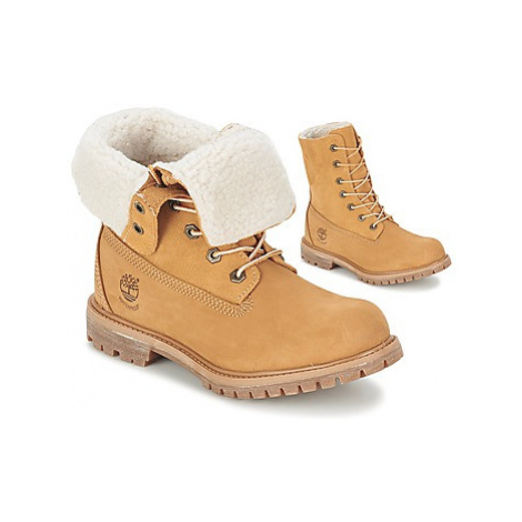 Timberland AUTHENTICS TEDDY FLEECE WP FOLD DOWN Bov