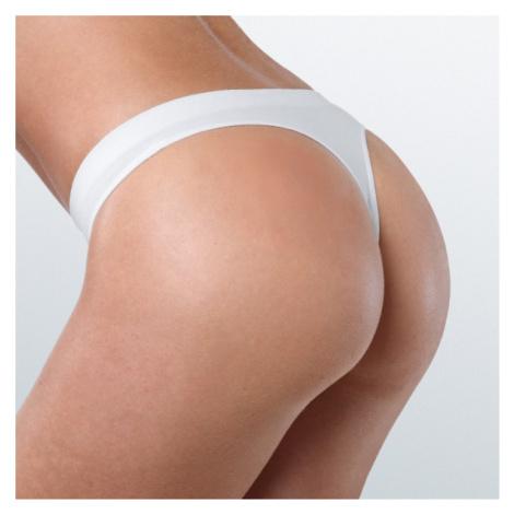 Bavlněná tanga s nízkým pasem bezešvé Cotone Basic Intimidea - 3 kusy