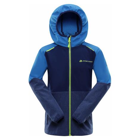 ALPINE PRO NOOTKO 9 Dětská softshellová bunda KJCR167697 brilliant blue