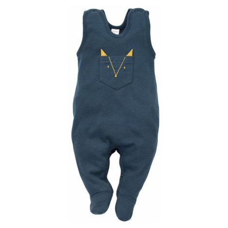 Pinokio Kids's Secret Forest Sleepsuit Navy Blue