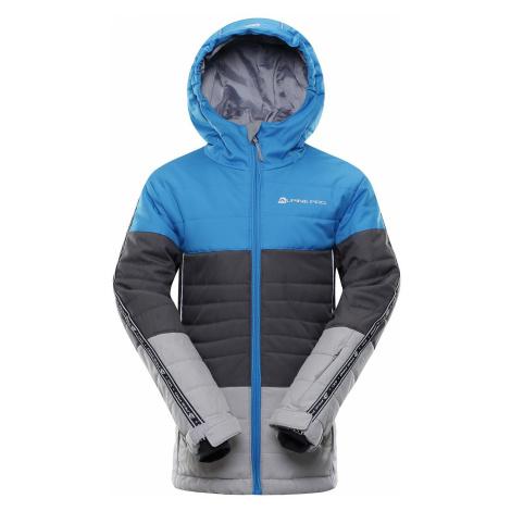 Dětská bunda Alpine Pro WIREMO 3 - modrá