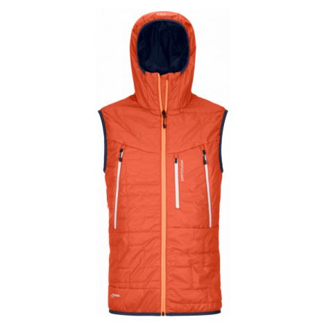 Pánská vesta Ortovox Swisswool Piz Boe Vest M desert orange