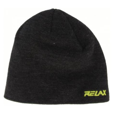 RELAX GUMBLE Zimní čepice RKH141A černá XXL