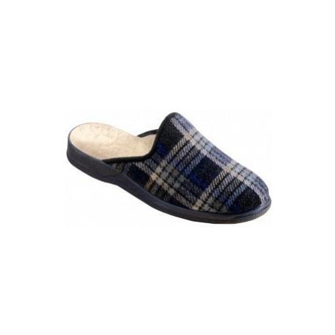 Blancheporte Klasické pantofle nám.modrá