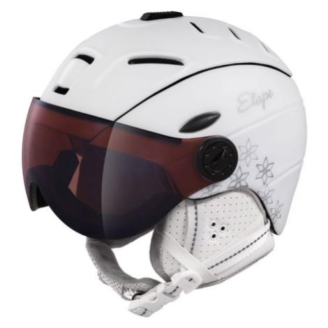 Etape GRACE PRO bílá - Dámská lyžařská přilba s visorem
