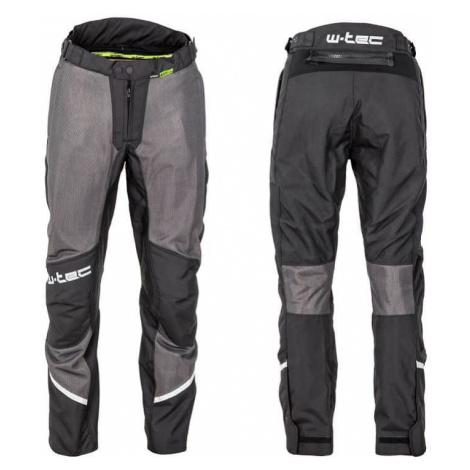 Pánské letní moto kalhoty W-TEC Alquizar Barva Black-Grey