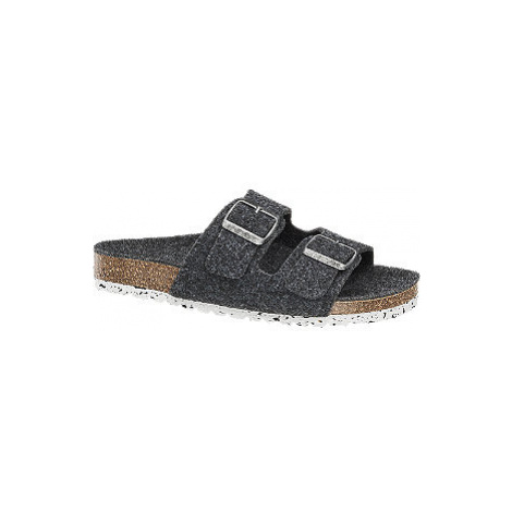 Šedé pantofle Vero Moda
