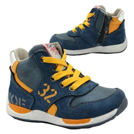 Modré chlapecké celoroční boty Hester Pidilidi