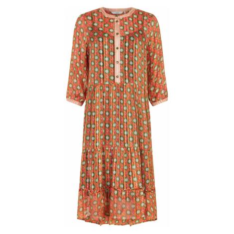 Nümph 7320812 NUAMABEL Dámské šaty 2019 MANGO oranžová