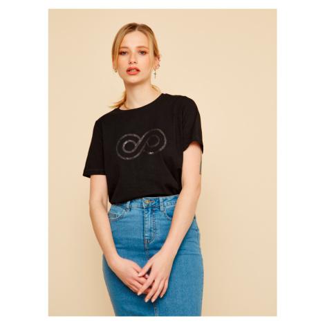 ZOOT černé dámské tričko Lucy