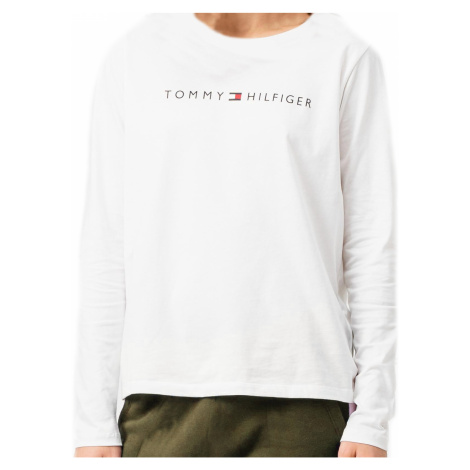 Dámské tričko Tommy Hilfiger UW0UW01910   černá