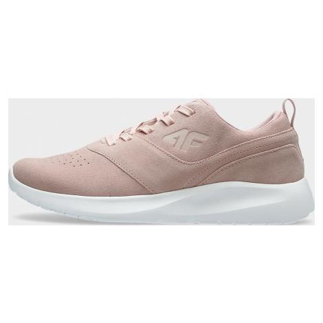 Dámská vycházková obuv 4F OBDL201 Světle Růžová
