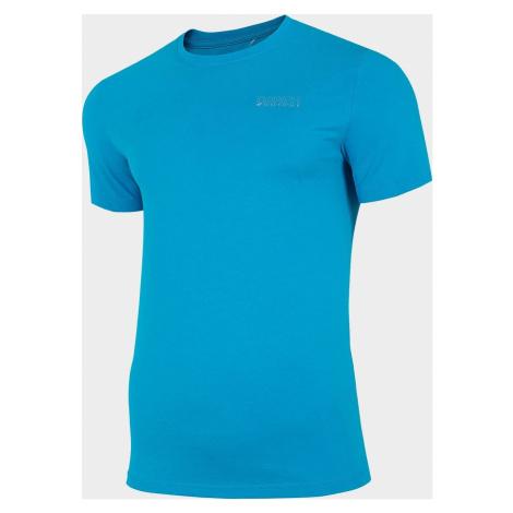 Pánské tričko 4F D4Z20-TSM231 Modré