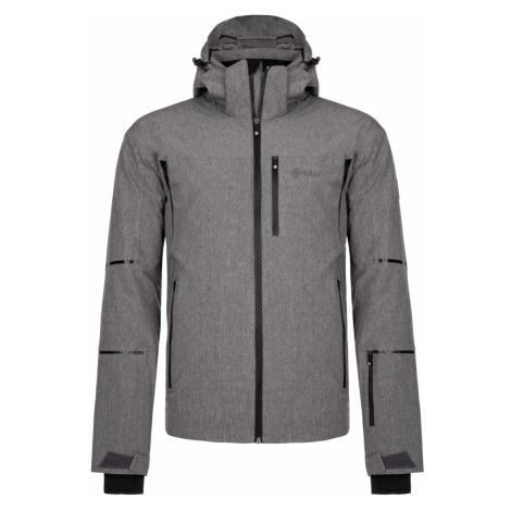 Pánská zimní lyžařská bunda KILPI TONN-M tmavě šedá