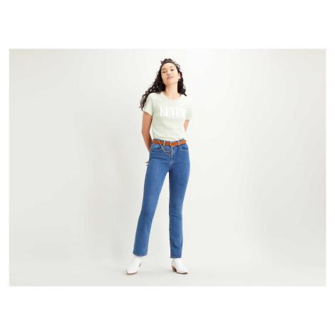 Levi´s® jeans 725 High Rise Bootcut dámské modré