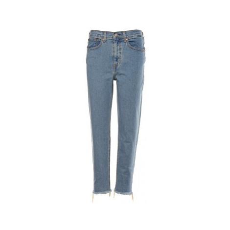 Mom jeans Levi´s® Pacific Sky dámské modré