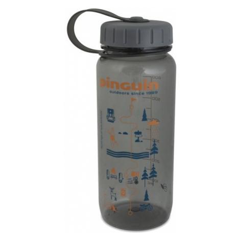 Pinguin Tritan Slim Bottle 0,65l, šedá 2020