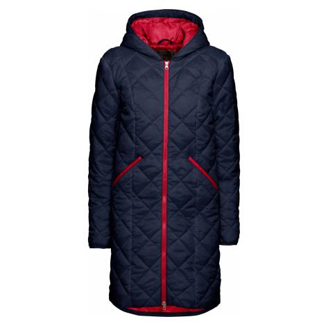 Prošívaný kabát, dvoubarevný