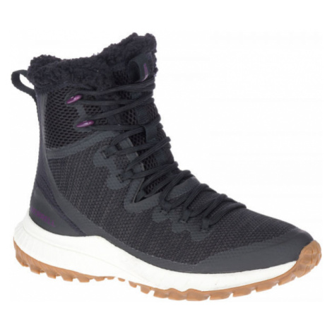 Merrell BRAVADA KNIT PLR WP černá - Dámské zimní boty