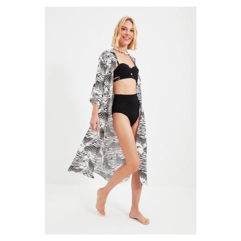Trendyol Zebra Patterned Kimono&Caftan