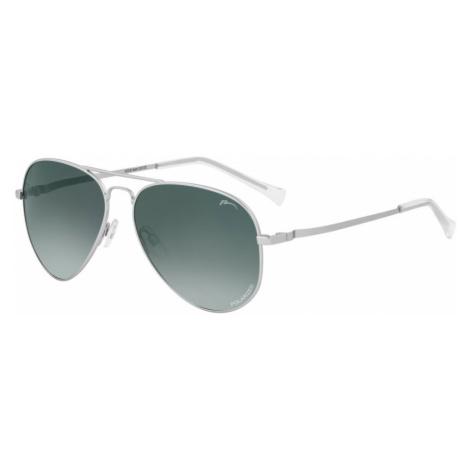 RELAX HATCH Sluneční brýle R2319K stříbrná L