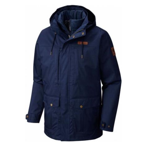 Columbia HORIZONS PINE INTERCHANGE JACKET tmavě modrá - Pánská zimní bunda 2v1