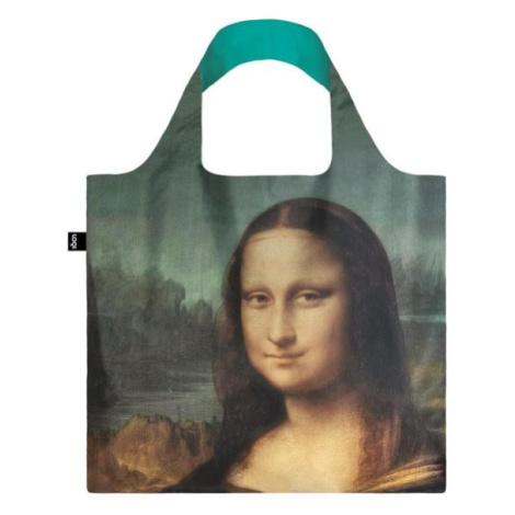Skládací nákupní taška LOQI LEONARDO DA VINCI Mona Lisa