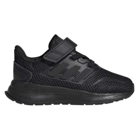 adidas RUNFALCON I černá - Dětská běžecká obuv