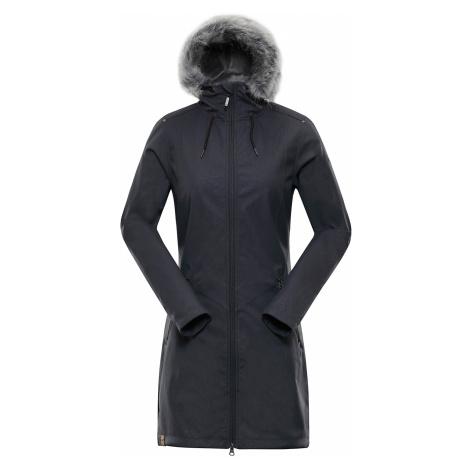 Alpine Pro PRISCILLA 4 INS. ŠEDÁ Dámský Softshellový Kabát