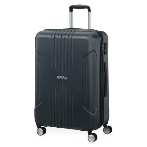 American Tourister Střední cestovní kufr Tracklite Spinner EXP 71/82 L - černá